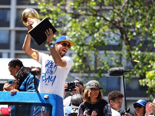 NBA: Golden State Warriors-Championship Parade