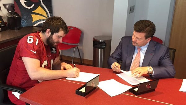 """@CardsMarkD: """"Cards Ink Toner"""" 5th Rd pick Cole Toner from Harvard signs 4-year deal."""