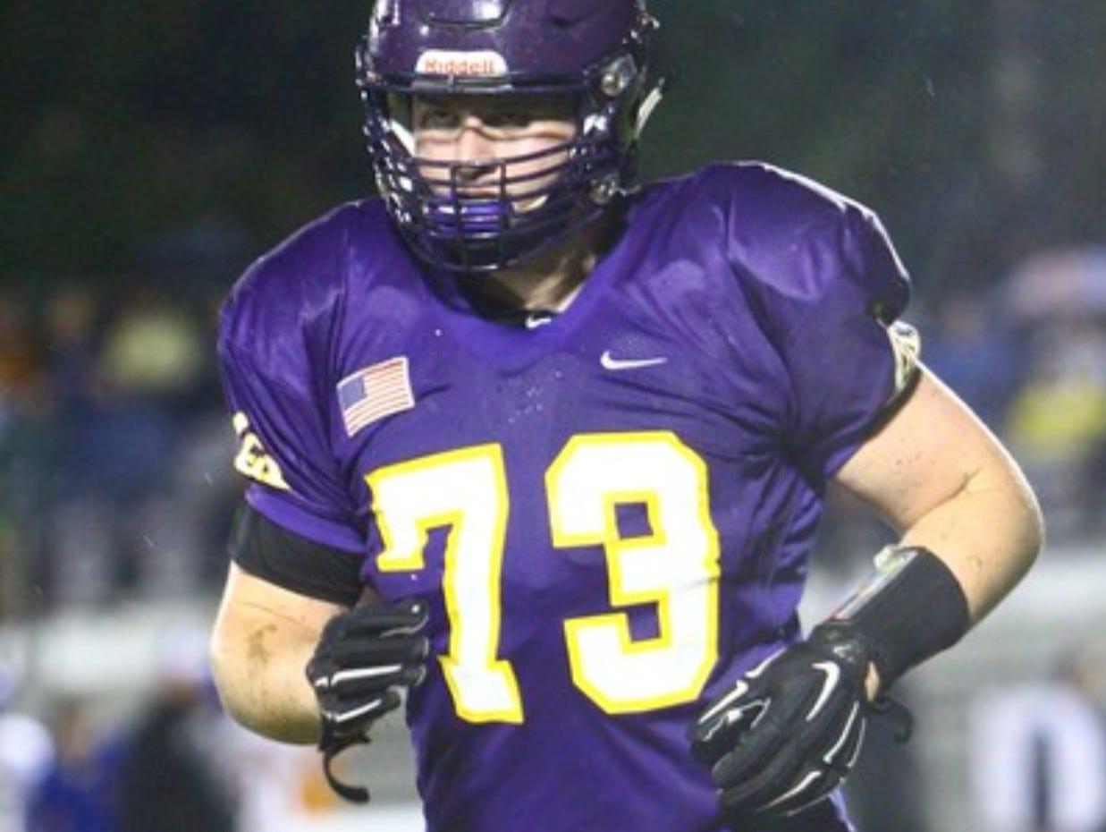 Lipscomb Academy defensive lineman Rutger Reitmaier