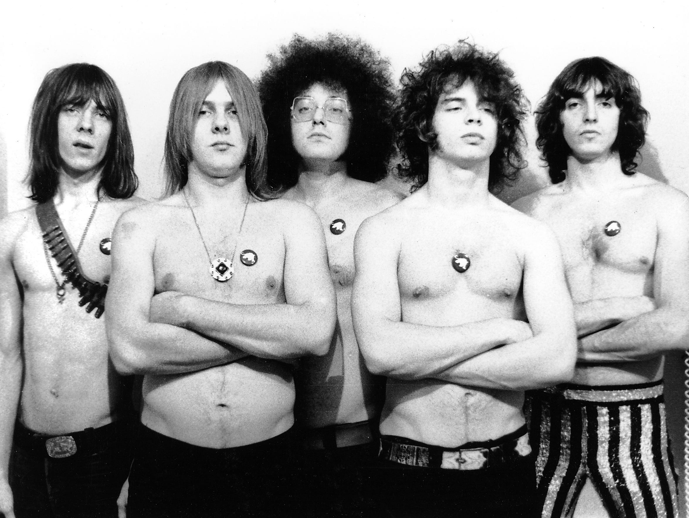 MC5 1968. photo by Leni Sinclair