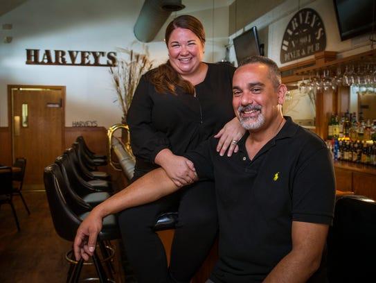 Katie Harvey-Martinez and husband Rick recently opened