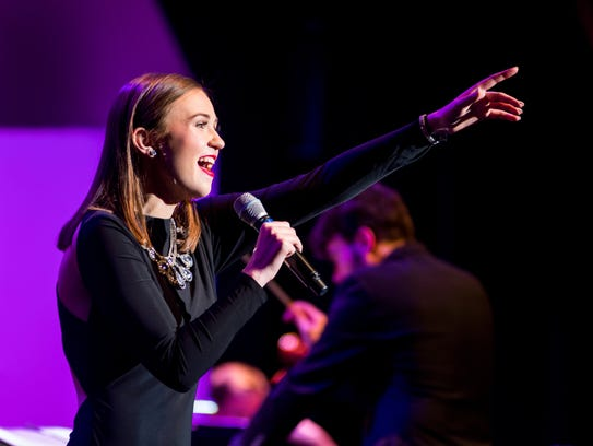 """Ellie Nickoli won the """"Bach to Rock"""" contest March"""