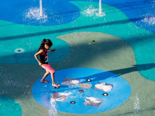 Summerfest splash pad