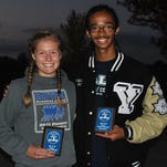 Calli Townsend of Croswell-Lexington and Carlos Soto of Yale claimed Blue Water Area Conference MVP awards.