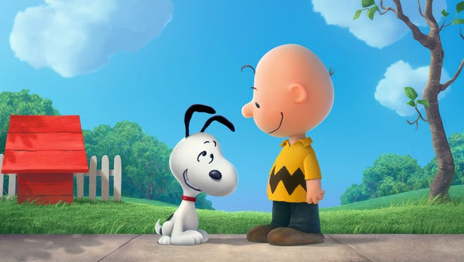 Charlie Brown and Snoopy return to the silver screen in 'Peanuts.'