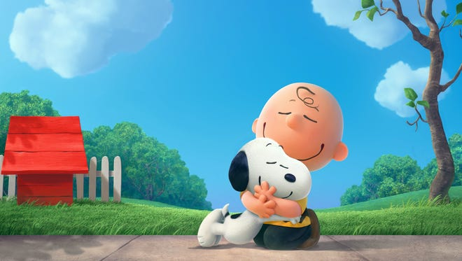 Charlie Brown and boy's best friend Snoopy reunite on the big screen in 'Peanuts.'