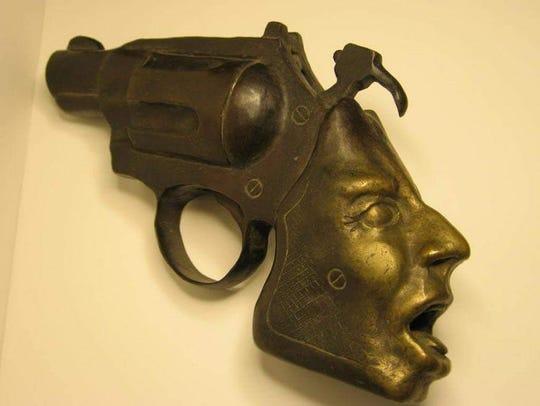A sculpture by Bernardo Corman.