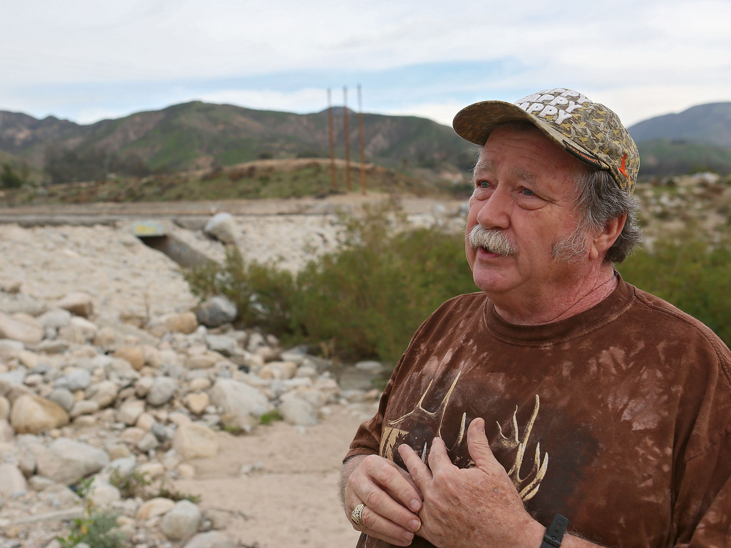 Retired Forest Service biologist Steve Loe voices concerns about Nestle's use of water from the San Bernardino National Forest.