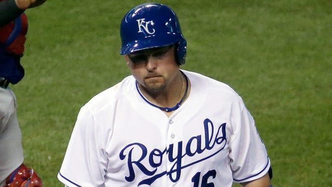 Royals designated hitter Billy Butler