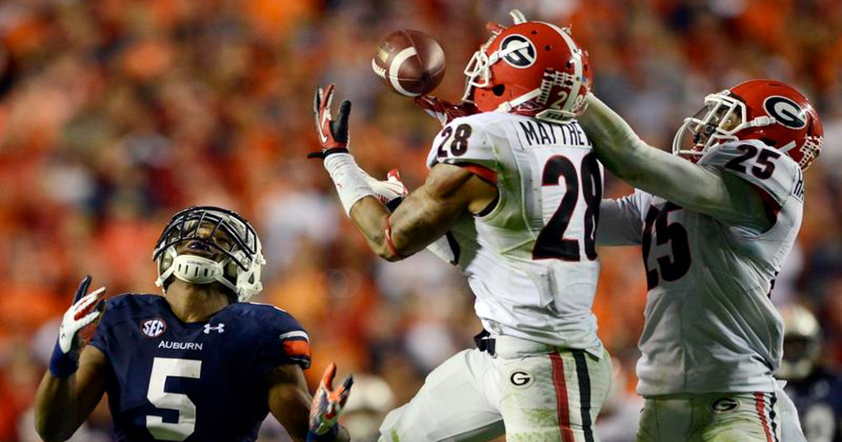 Game time for Auburn-Georgia to be determined Sunday