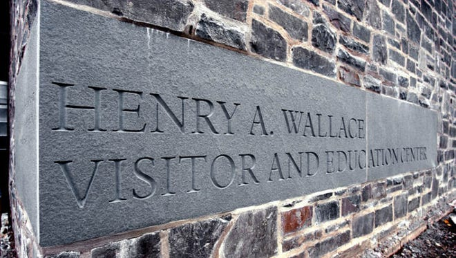 The Henry A. Wallace Visitor and Education Center at the Franklin D. Roosevelt National Historic Site in Hyde Park.
