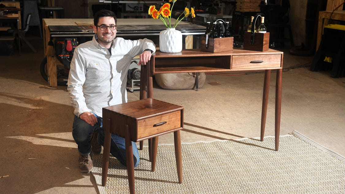 Furniture Makers Drawn To Detroit By Space Reclaimed Materials