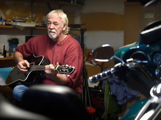Retired heavy equipment operator Tom Clark is also