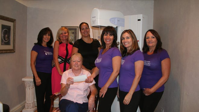 Windsor Community Angels and Roseann Gregory Cancer Foundation members are happy to help breast cancer patients.