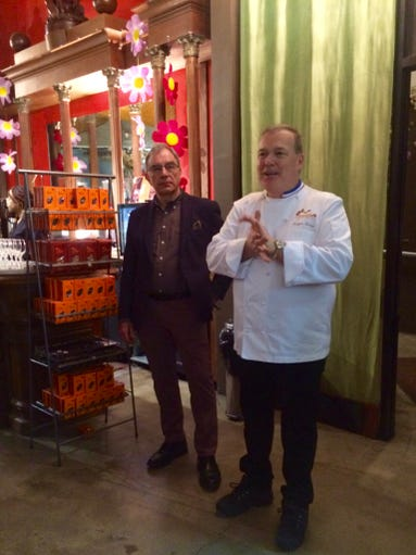 Jacques Torres introduces Eddy Van Belle, the founder