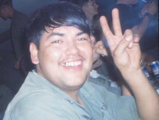 Jimmie Patten, of San Carlos, Arizona, born March 17,
