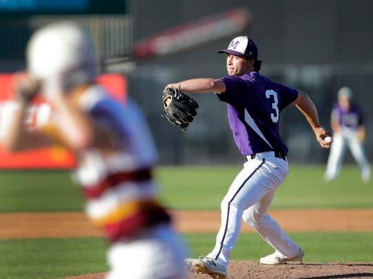 Mosinee's Ben Vandehey was a first team selection to the all-Great Northern Conference baseball team.