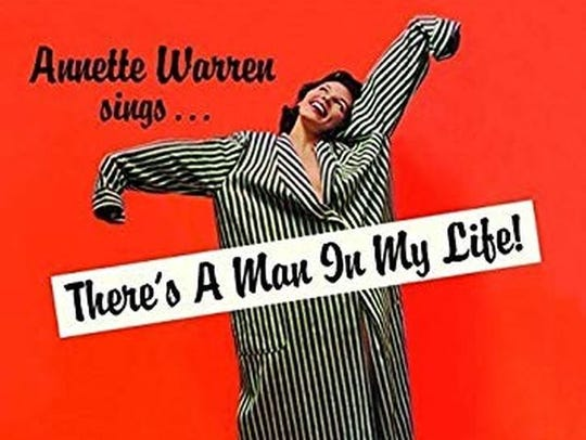 Cover of Annette Warren's CD There's a Man in My Life