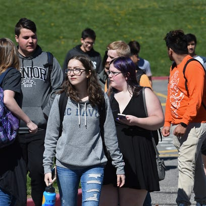 Updates: Reno-area students walk out to protest gun violence (again)