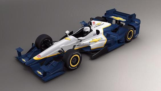 Chevrolet rolled out its new aero kit design. This one will be used on road courses and street circuits.