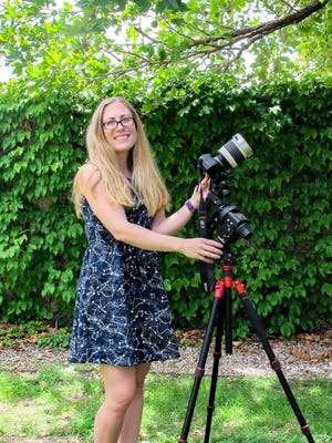 Astronomer and author Misty Carty will be one of the authors featured at Saturday's Read Four Corners Author Fair at the Farmington Public Library.