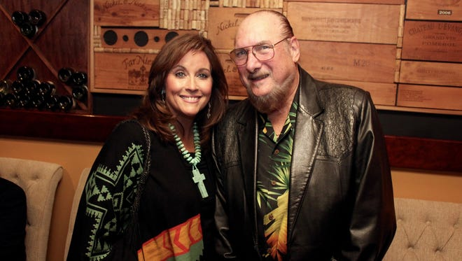 Event co-chairs Angel and Steve Cropper.  The Tennessee State Museum hosted its 11th annual Sparkle & Twang fall fundraiser Saturday, Nov. 19, 2016.