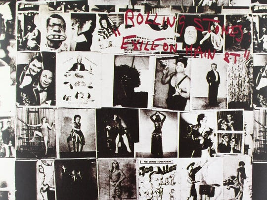 "The cover to the 1972 album ""Exile on Main St"" by The Rolling Stones."