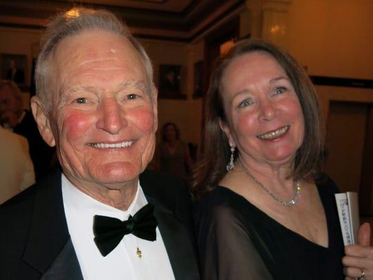 Jack and Mary Caplis at Plantation Ball.
