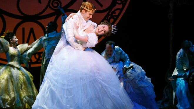 At the heart of that was a tale with charity, generosity and kindness.  Paige Faure & Andy Jones in the National Tour of Rodgers + Hammerstein's Cinderella.