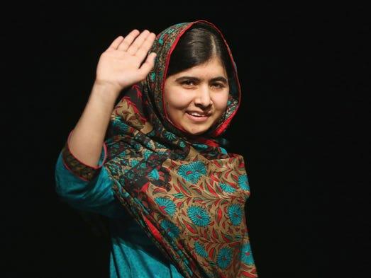 BIRMINGHAM, ENGLAND - OCTOBER 10:  Malala Yousafzai