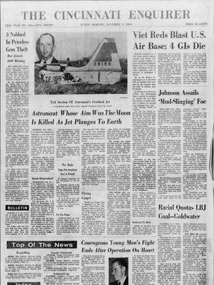 Enquirer front page from Nov. 1, 1964