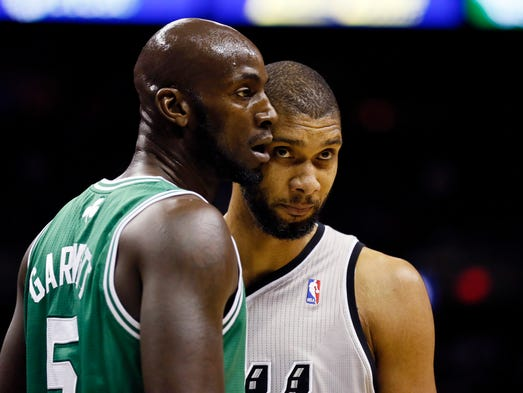 Kevin Garnett and Tim Duncan have been standard-bearers at power forward for 15 years, but a new group is pushing hard. USA TODAY Sports' Sean Highkin ranks the 15 best for the 2013-14 season.
