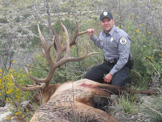 635877629196255243-Enforcement-Officer-Month-2014-12-Officer-Waldrip-elk-hunt-patrol-Eddy-County.jpg