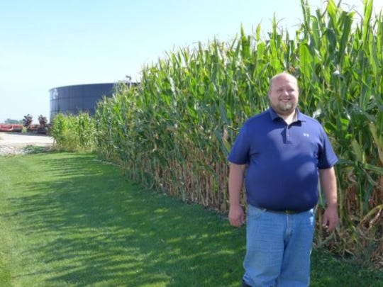 Josh Hiemstra, a Fond du Lac farmer, has been using