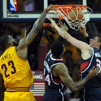 May 24, 2015; Cleveland, OH, USA; Cleveland Cavaliers