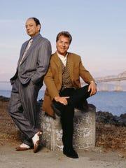 "Cheech Marin (left) and Don Johnson spent six seasons on the CBS series ""Nash Bridges."""
