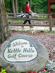 Kettle Hills Golf Course is right down the road from