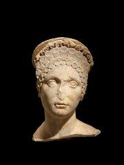 Female portrait head (Carthage, Tunisia), about 100