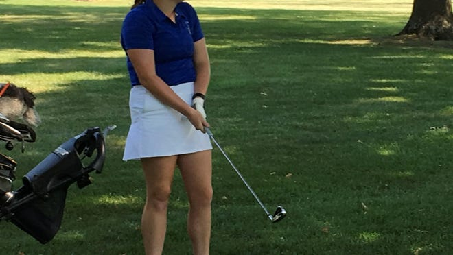 Washburn Rural junior Kaitlyn Crough is the defending individual champion in the city girls golf tournament, which will be held Monday at Western Hills Golf Course.