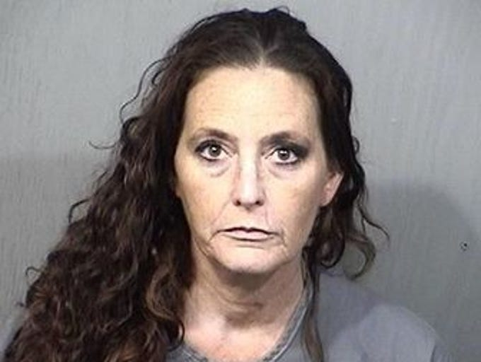 Jill King, 46, of Cocoa, charges: Grand theft; dealing