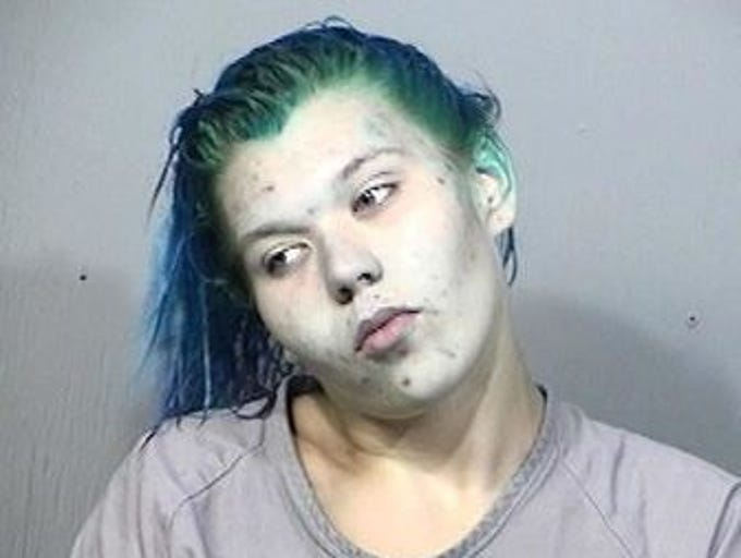 Stephanie Rankin, 19, of Melbourne, charges: Possession