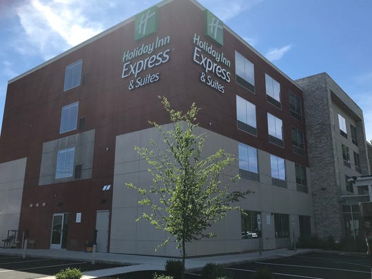 Holiday Inn Express & Suites has opened in North Brunswick.
