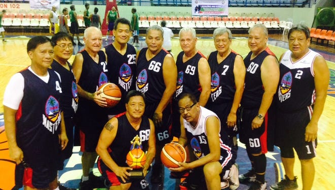 The Guam Masters Basketball Association 60-plus team won a gold medal at the Philippine Masters Sports Association Meet held Sept. 18-22 at Antipolo City, Ynares Gym in the Philippines.