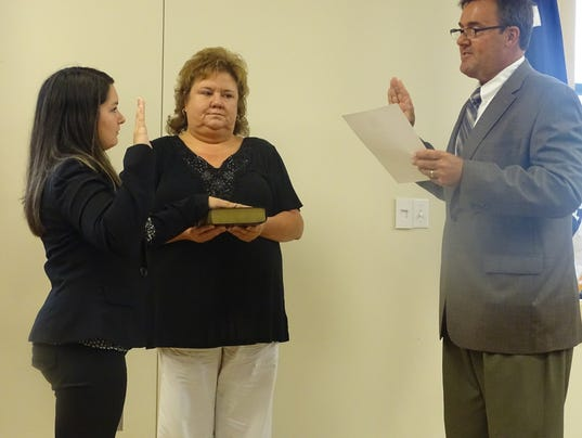 McGuire swearing in
