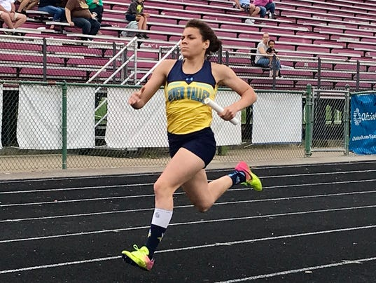 River Valley girls track Tatyana Young