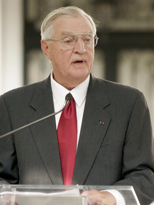 Former US vice president Walter Mondale