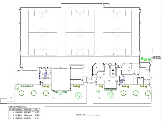 A new indoor soccer facility to be called South Park