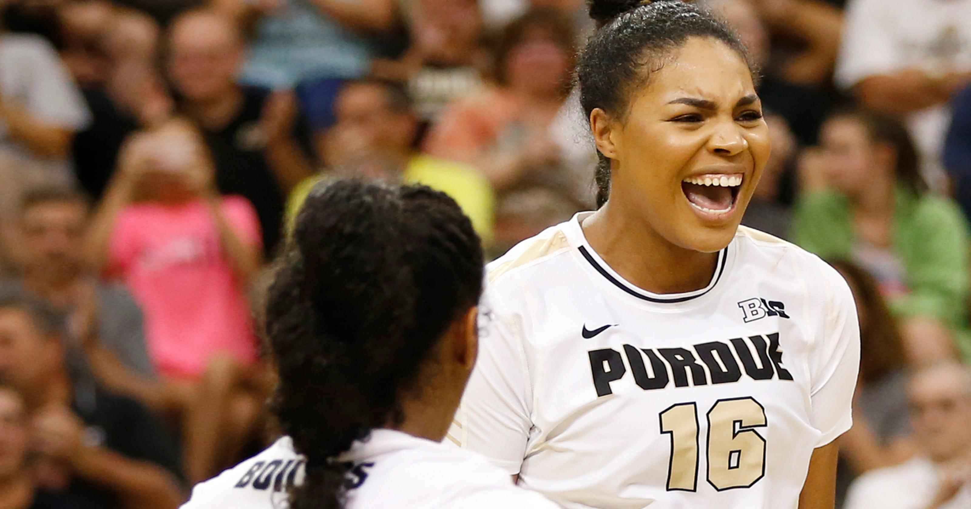 f7b59343b472 Sherridan Atkinson comes up big for Purdue volleyball