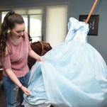 West High senior makes prom dress of her dreams