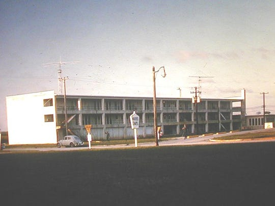 The Marbo housing annex at Andersen Air Force Base in the 1960s. Veterans have alleged that Agent Orange was sprayed at this complex.